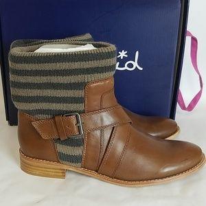 Splendid Cognac Leather boots Toronto